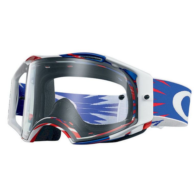 Brýle Oakley Airbrake MX High Voltage Red White