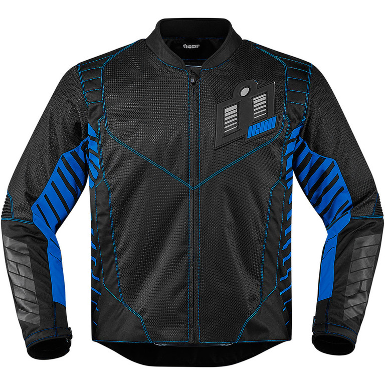 Moto Bunda Icon Wireform blue