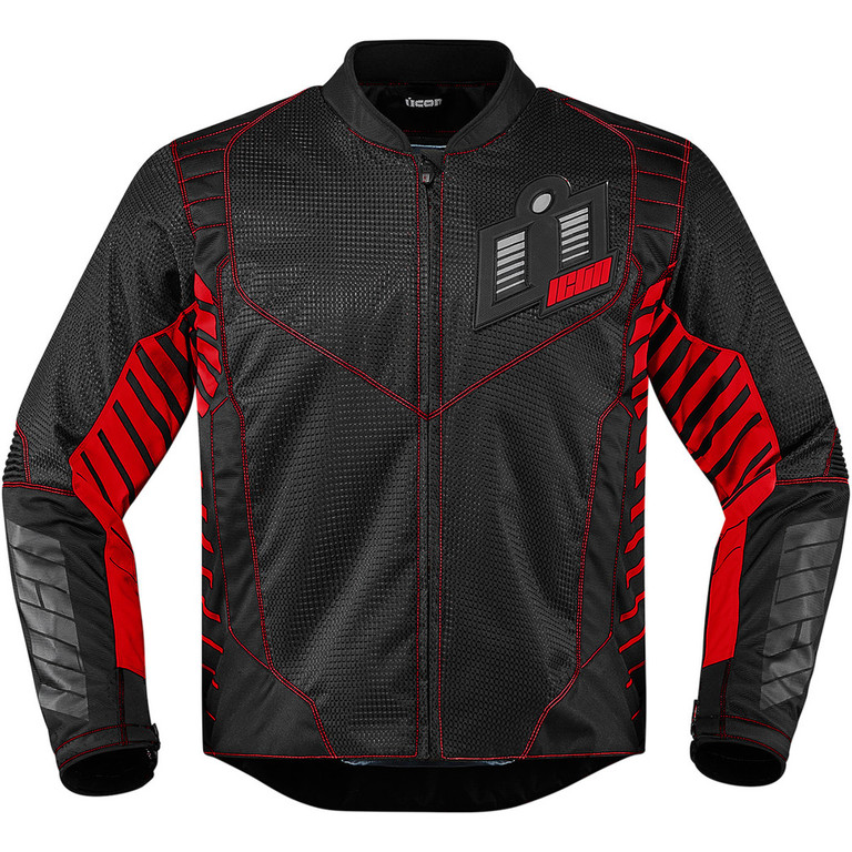 Moto Bunda Icon Wireform red