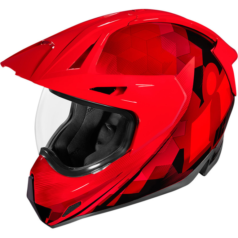 Helma na motorku ICON Variant Pro Acension Red