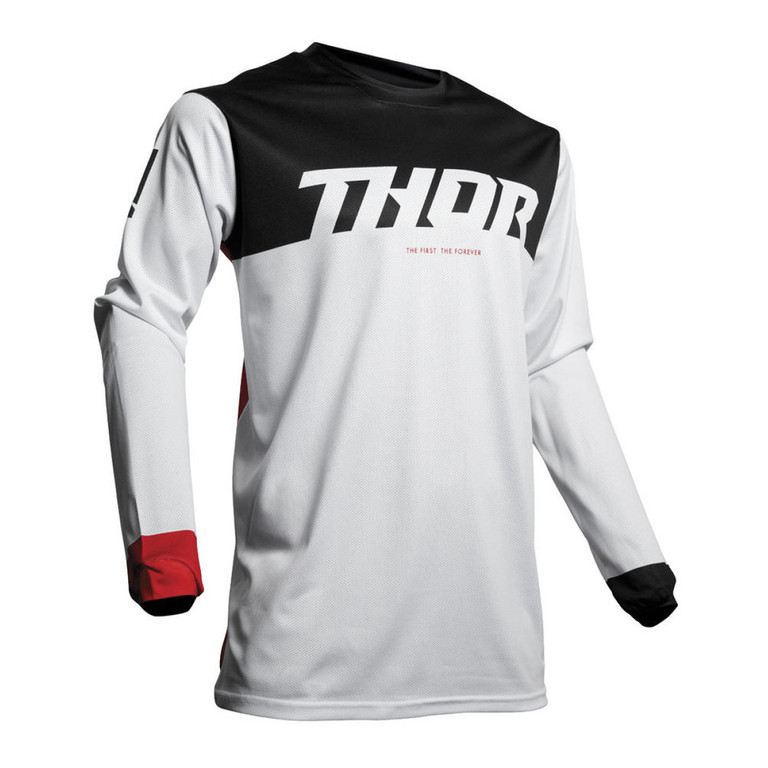 Motokrosový dres THOR Pulse Air Factor white
