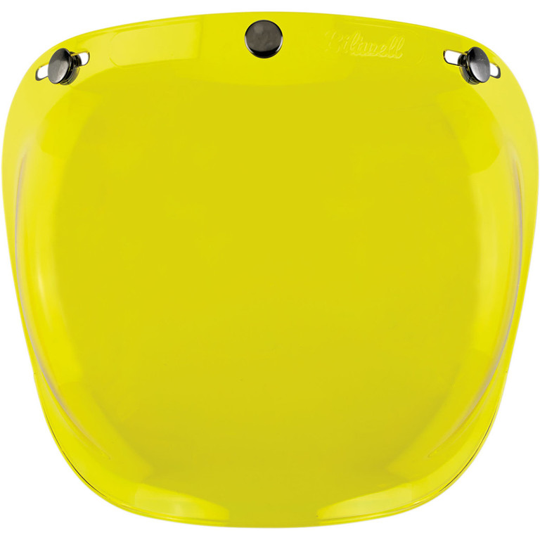 Plexi Biltwell Gringo Bubble Yellow